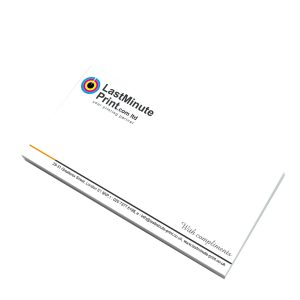 Compliment slips, Business Stationery