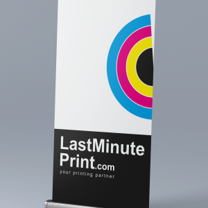 roll up banners, lastminute print, print in london, same day printing
