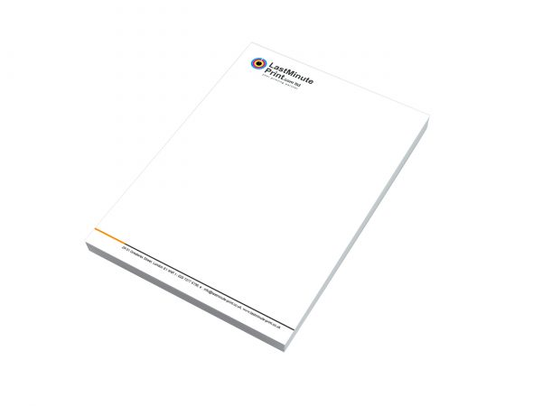 letterheads, printing, designing, last minute, printing in london, office material, business stationary