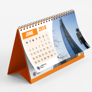 desk calendar, last minute print, same day print, print in london, promotional material