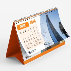 desk calendar, last minute print, same day print, print in london, promotional material