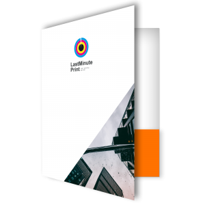 Presentation folder, Flyers, last minute print, same day print, print in london, promotional material